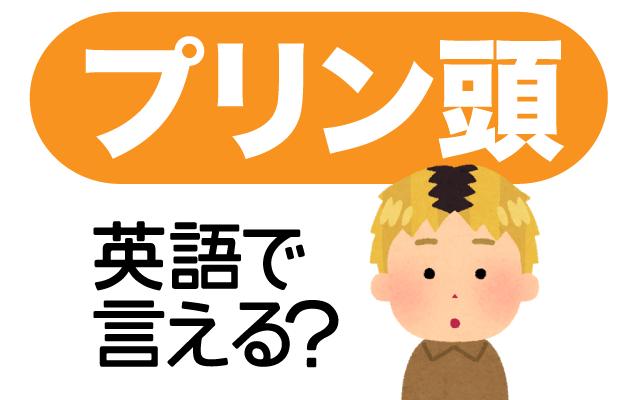 髪の根本だけ黒い【プリン頭】は英語で何て言う?